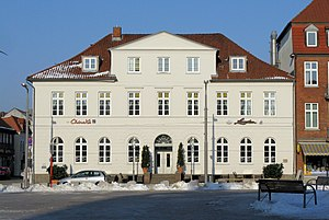 Former town hall, in Ratzeburg, district Herzo...