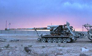 English: A North-Korean-built M-1978 KOKSAN di...
