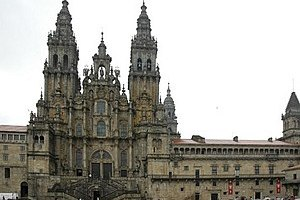 The Cathedral of Santiago is the ultimate goal of the pilgrimage.