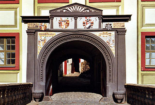 Portal von Schloss Weesenstein