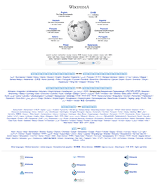 //www.wikipedia.org. Se muestran las ediciones con un mayor número de art�culos.
