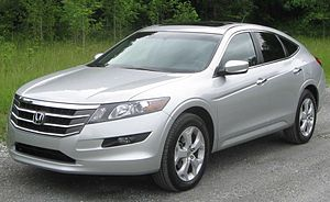 2010 Honda Accord Crosstour photographed in Ac...