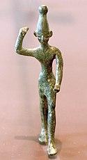 Statue of Ba'al the God