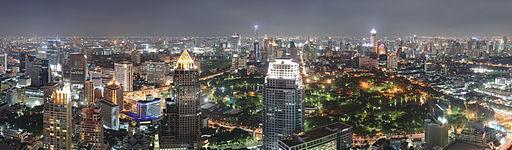 Bangkok Night Wikimedia Commons