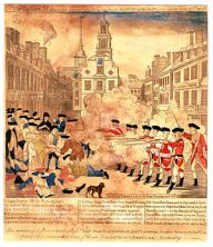 """The Boston Massacre,"" an engraving ..."