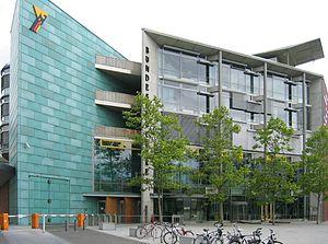 Headquarters of the Bundesdruckerei in Berlin