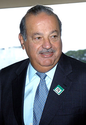 Mexican businessman Carlos Slim Helú. Deutsch:...