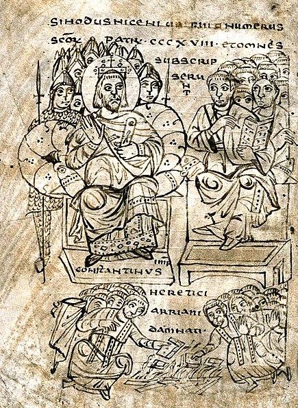 File:Constantine burning Arian books.jpg