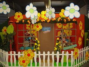 Easter display at Lewis's Department Store, Li...