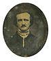 English: Daguerreotype of Edgar Allan Poe firs...