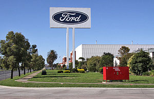 Ford Motor Company of Australia stamping plant...