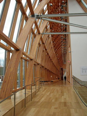 The Galleria Italia interior of the new Art Ga...