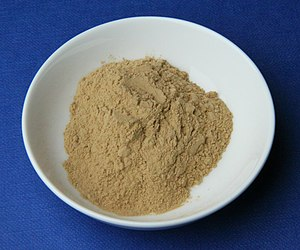 English: Some medicinal clay from German manuf...