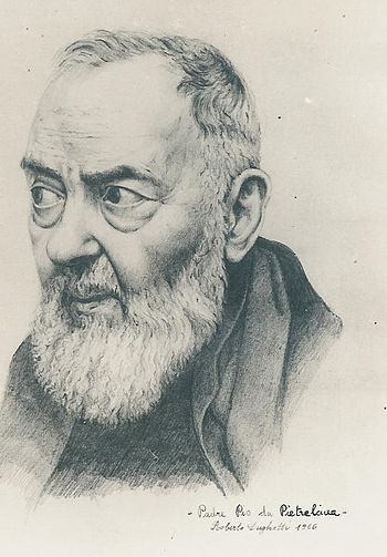 "Saint Padre Pio stated: ""Through the stud..."