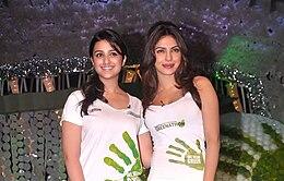 Parineeti And Priyanka Chopra Are Looking Towards The Camera