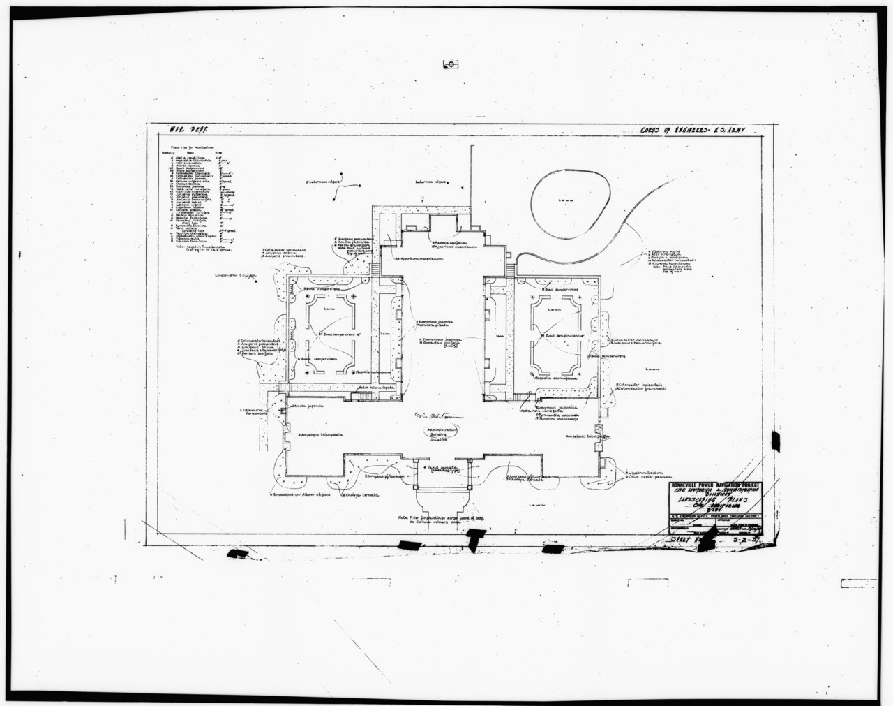 File Photocopy Of Original Construction Drawing Dated 13