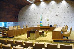 English: Plenary STF Português: Plenário do STF