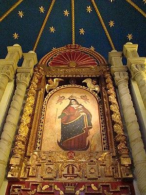 Español: Fresco pintado el Siglo XVI, en un mu...