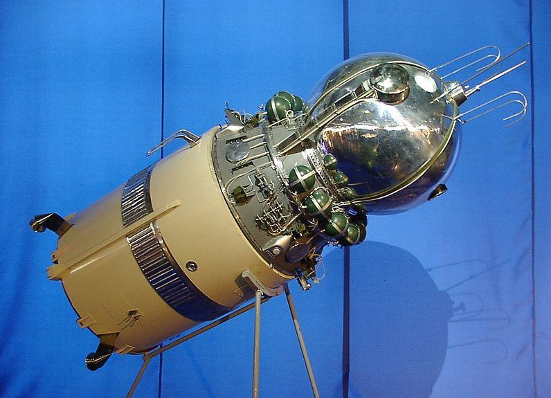 vostok 1 1961de yuri gagarini sağ salim uzaya çıkartıp geri dönen otomatik bir uzay aracı