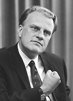 Billy Graham Most admired man 4% (statistical tie)