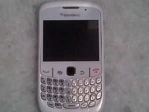 English: Blackberry Curve 8530 Español: Blackb...