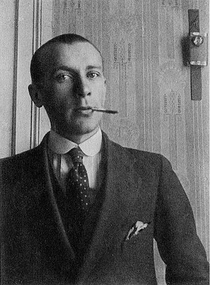 English: Mikhail Bulgakov in the 1910s, during...