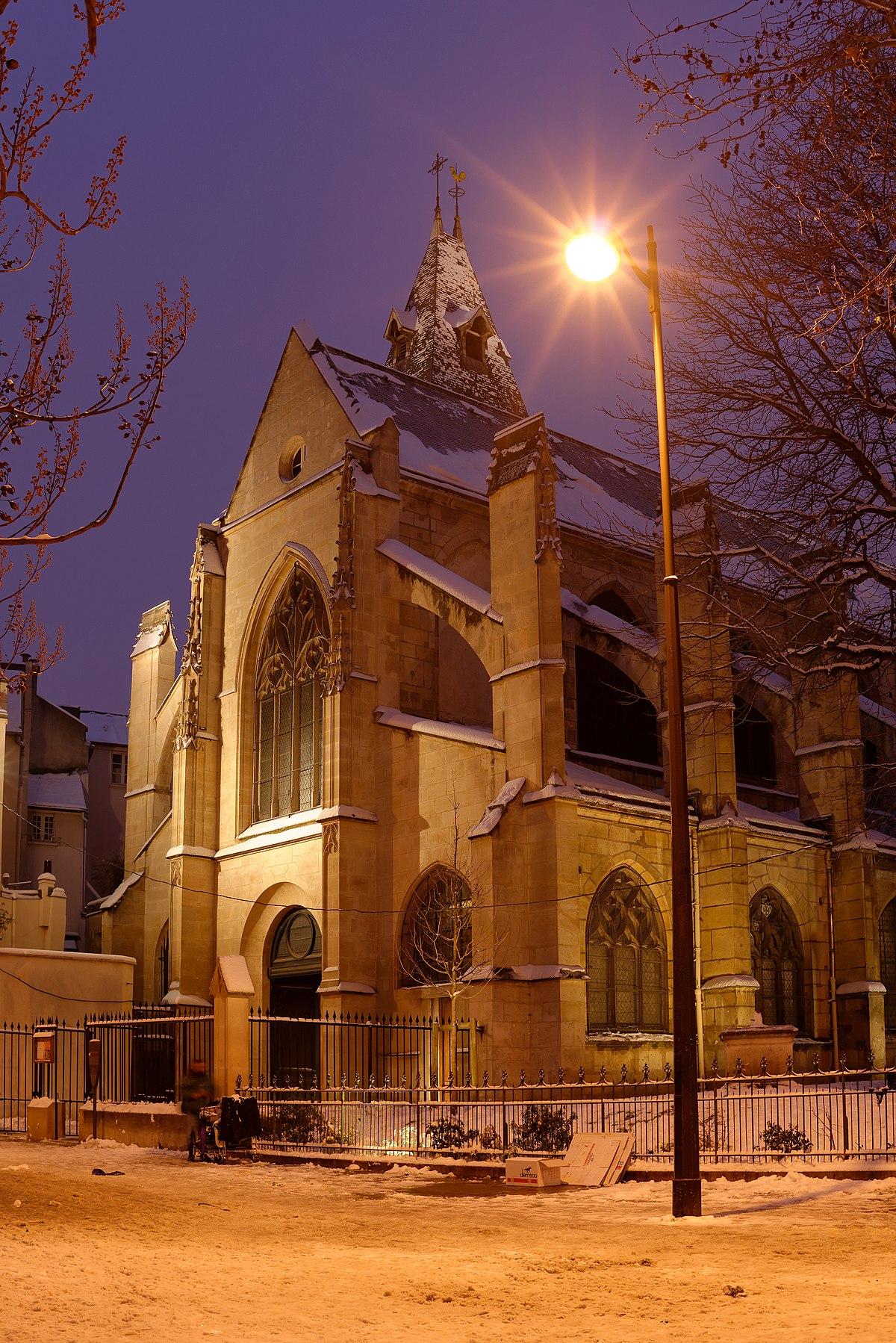 201 Glise Saint M 233 Dard De Paris Wikip 233 Dia