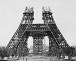 May 15, 1888: Start of construction on the second stage. (Eiffel Tower)