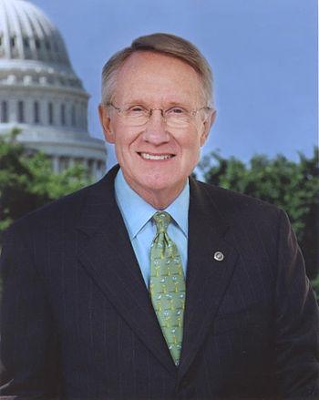 Senator Harry Reid, Senate Majority Leader