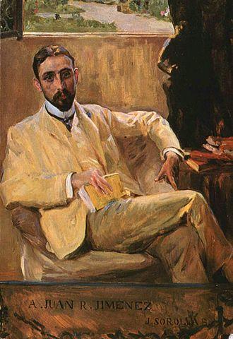 Juan Ramón Jiménez, por Joaquín Sorolla