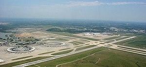 English: Kansas City International Airport (IA...
