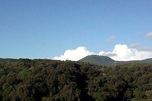English: View of Monte Cavo (Rocca di Papa - R...