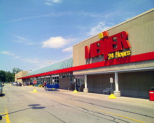 A Meijer in Midland, Michigan.