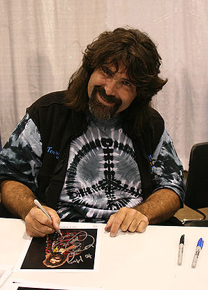 Wrestling hardcore Legend Mick Foley