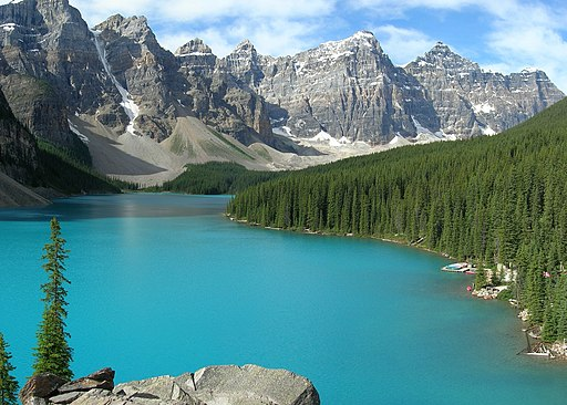 Moraine Lake-Banff NP