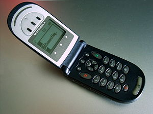 English: Motorola V66 mobile phone