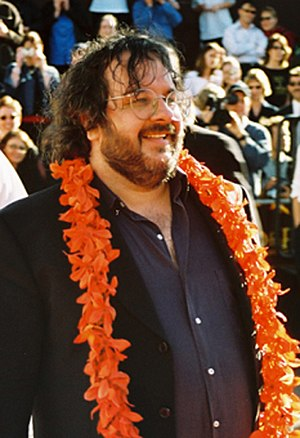 Director Peter Jackson at the World premiere o...