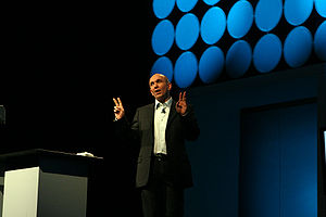 Peter Molyneux at the Game Developers Conferen...
