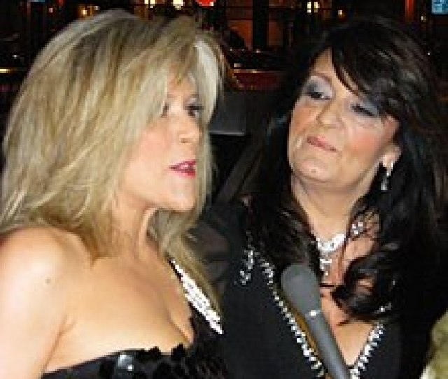 Fox Left And Her Partner Myra Stratton At The 2010 Fate Awards In Belfast Northern Ireland