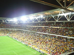 Suncorp Stadium before the 07/10/06 Australia ...