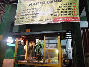Bahasa Indonesia: Warung Bakmi Jawa Harjo Geno...