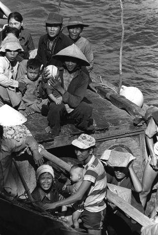 35 Vietnamese boat people