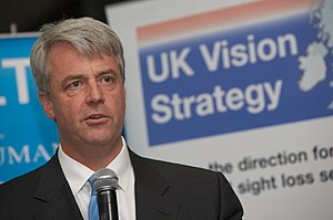 Andrew Lansley, British politician and ...