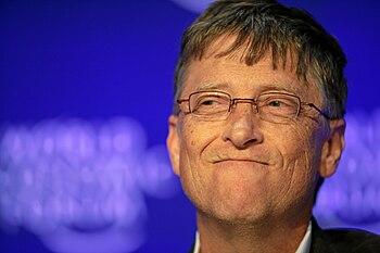 English: William Henry Gates III, CEO of Micro...