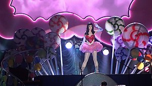 English: Performance by Katy Perry for the son...