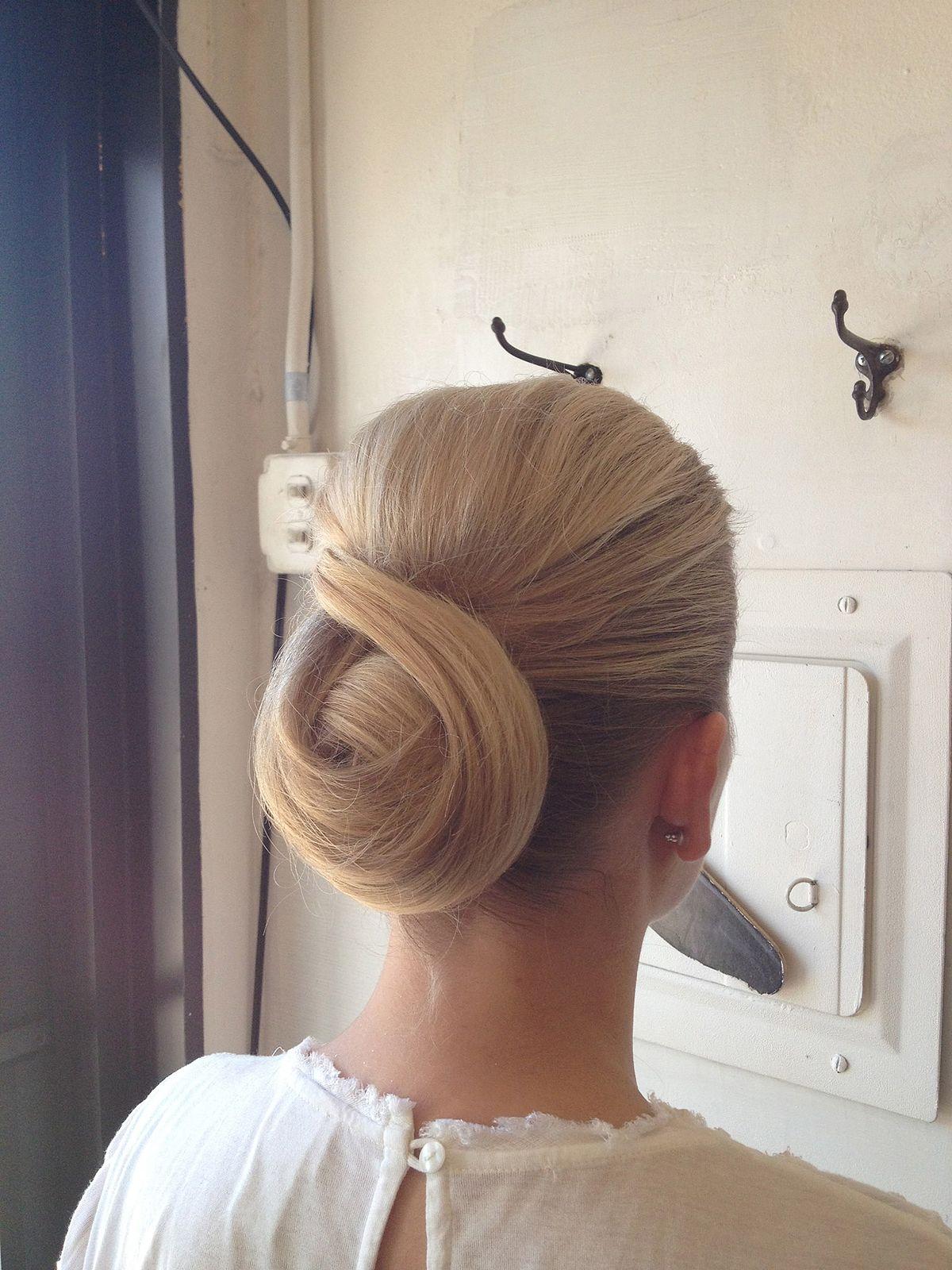 Chignon Hairstyle Wikipedia