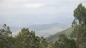 Nilgiri Hills from atop Doddabetta Peak