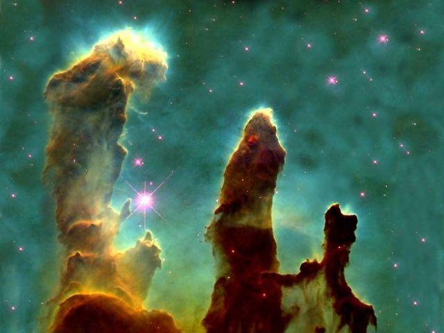 Eagle nebula pillars complete - M16