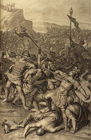 Figures 055 The Battle Between the Israelites ...