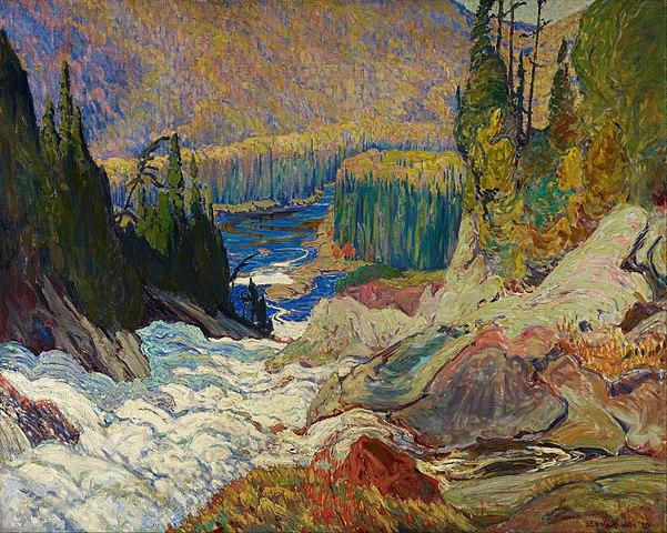 File J E H Macdonald Falls Montreal River Google Art